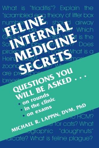 Feline Internal Medicine Secrets, 1e: Lappin, Michael R.