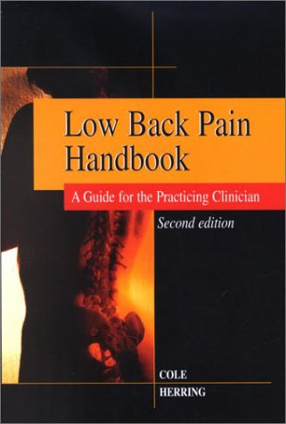 9781560534938: Low Back Pain Handbook: A Practical Guide for the Primary Care Clinician