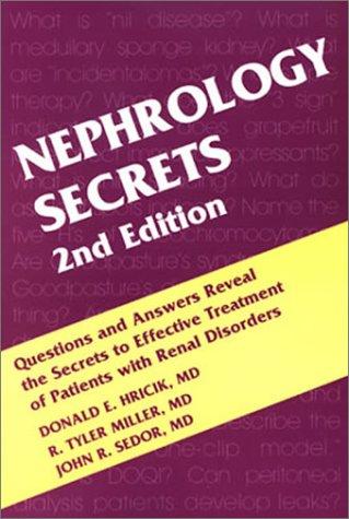 Nephrology Secrets: John R. Sedor;
