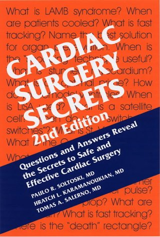 9781560535874: Cardiac Surgery Secrets