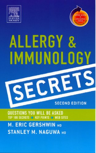 Allergy and Immunology Secrets: With STUDENT CONSULT: Naguwa MD, Stanley