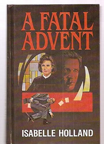 9781560540151: A Fatal Advent (Thorndike Press Large Print Americana Series)