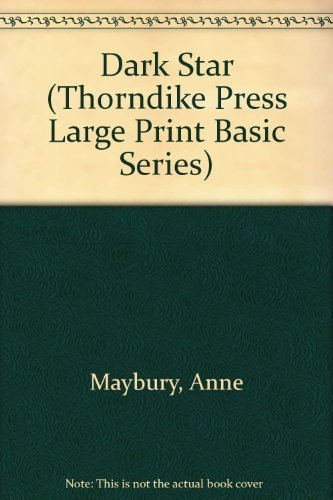9781560540250: Dark Star (Thorndike Press Large Print Basic Series)