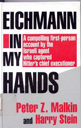 9781560540557: Eichmann in My Hands (Thorndike Press Large Print Basic Series)