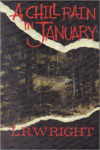 9781560540632: A Chill Rain in January (Thorndike Press Large Print Basic Series)