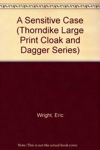 9781560540694: A Sensitive Case (Thorndike Large Print Cloak and Dagger Series)