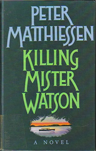 9781560540991: Killing Mister Watson (Thorndike Press Large Print Basic Series)