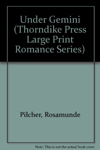 9781560541516: Under Gemini (Thorndike Press Large Print Romance Series)