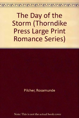 9781560541547: The Day of the Storm (Thorndike Press Large Print Romance Series)