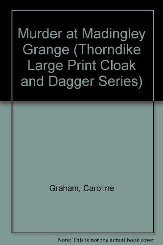 9781560541738: Murder at Madingley Grange (Thorndike Large Print Cloak and Dagger Series)