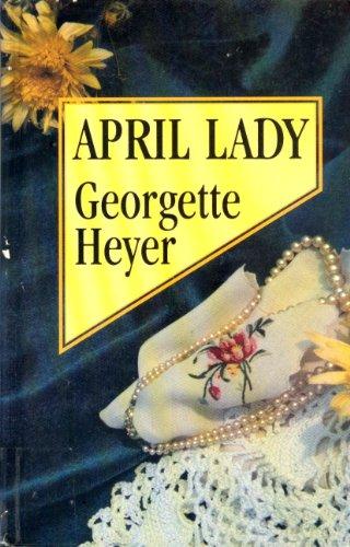 9781560542032: April Lady (Large Print Edition)