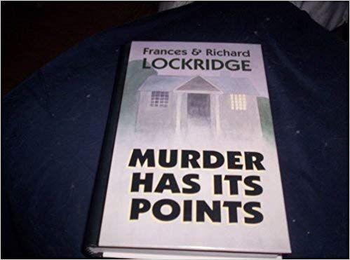 9781560542391: Murder Has Its Points: A Mr. and Mrs. North Mystery (Thorndike Press Large Print Basic Series)