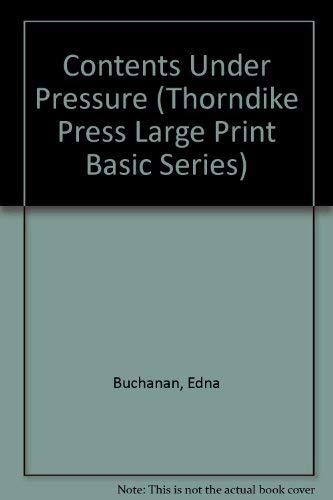 9781560545446: Contents Under Pressure (Thorndike Press Large Print Basic Series)