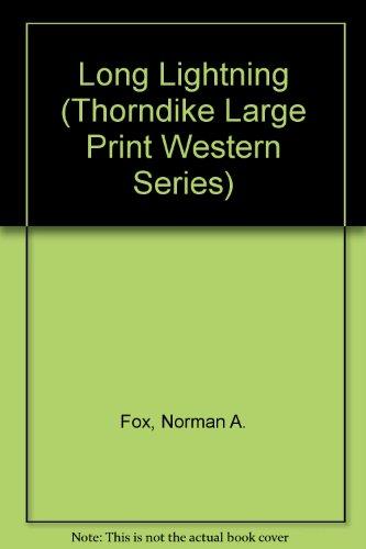 9781560545507: Long Lightning (Thorndike Press Large Print Western Series)