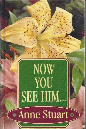 9781560546795: Now You See Him... (Thorndike Press Large Print Romance Series)
