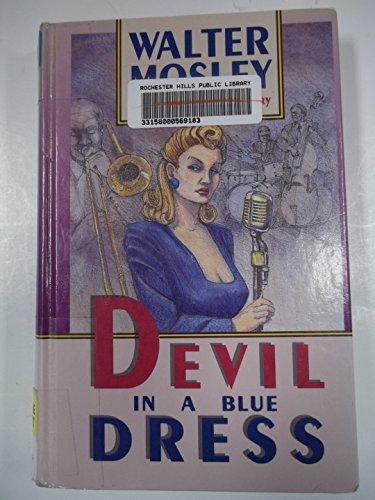 9781560547228: Devil in a Blue Dress (Thorndike Large Print Cloak & Dagger Series)