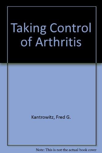 9781560549574: Taking Control of Arthritis