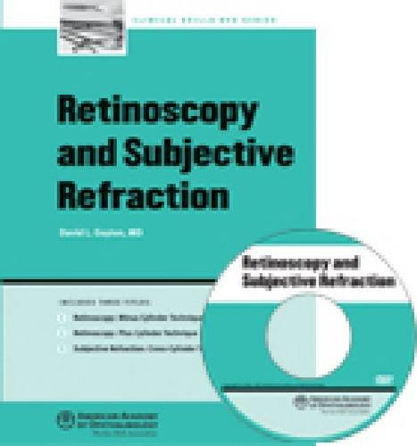 9781560558521: Retinoscopy and Subjective Refraction (DVD)