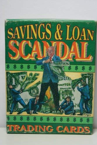 9781560601289: Savings and Loan Scandal Trading Cards
