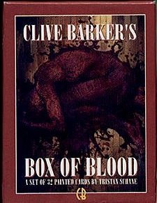 9781560601975: Clive Barker's Box of Blood
