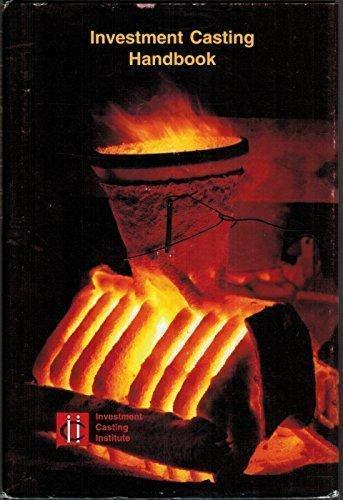 9781560610496: Investment Casting Handbook 1997