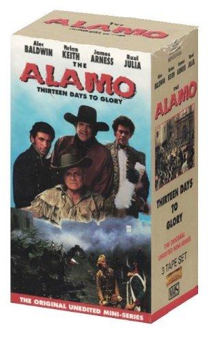 9781560687740: The Alamo - Thirteen Days To Glory: The Original Unedited Mini-Series (3 Tape Set) [VHS]