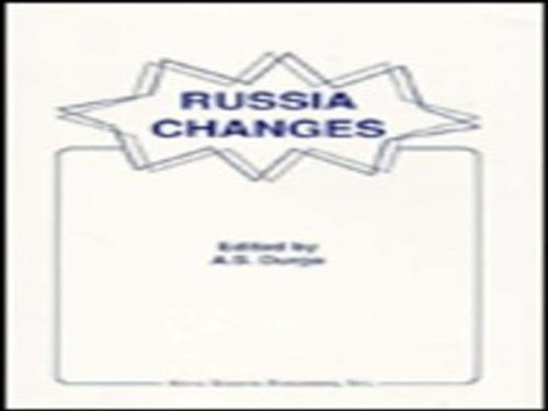 Russia Changes: Events of August 1991 and the Russian Constitution (Hardback): A. S Durgo