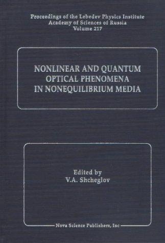 Nonlinear and Quantum Optical Phenomena in Nonequilibrium