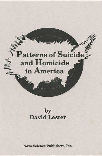 9781560721482: Patterns of Suicide and Homicide in America