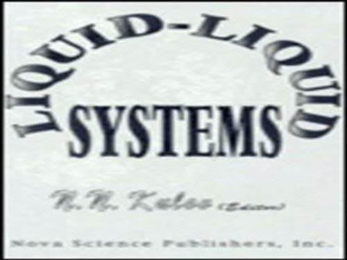 9781560721895: Liquid-Liquid Systems