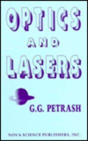 Optics and Lasers (Proceedings of the Lebedev Physics Institute Academy of Sciences of Russia, ...