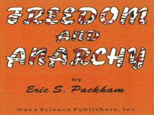 9781560722328: Freedom and Anarchy