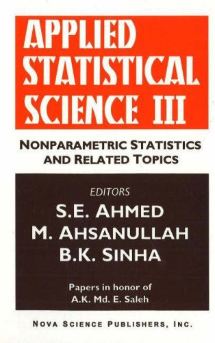 Applied Statistical Science, III: Papers in Honor