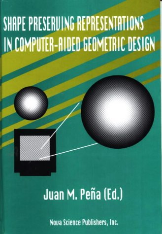 9781560726913: Shape Preserving Representations in Computer-Aided Geometric Design