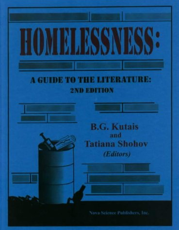 Homelessness: A Guide to the Literature (Hardback)