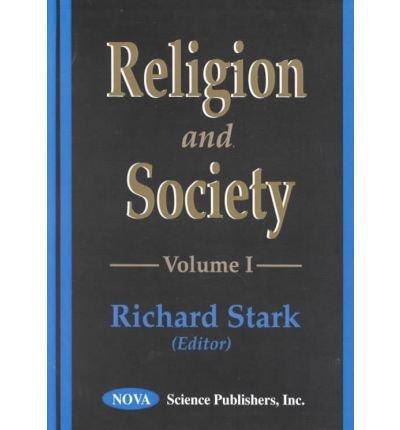 9781560728634: 1: Religion and Society