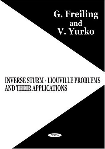 9781560729099: Inverse Sturm-Liouville Problems and Their Applications