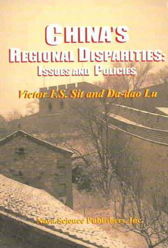 Chinas Regional Disparities