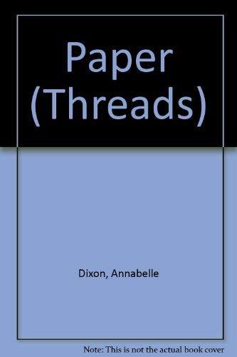 Paper: Dixon, Annabelle;Barber, Ed