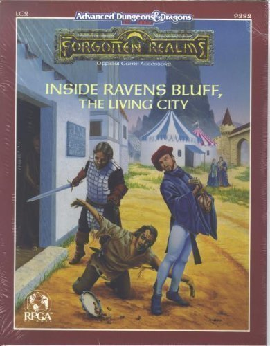9781560760481: Advanced Dungeons & Dragons Forgotten Realms: Inside Ravens Bluff, The Living City, (LC2) 2nd Edition