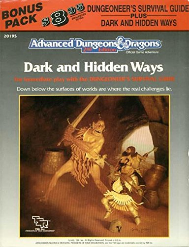 Dungeoneer's Survival Guide w/Dark and Hidden Ways (Advanced Dungeons & Dragons (1st ...