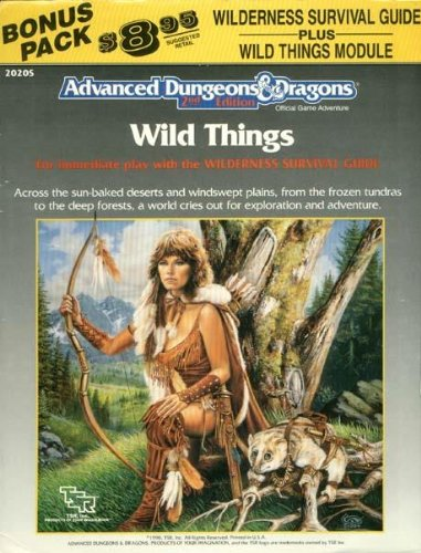 Wild Things (Advanced Dungeons & Dragons): Grant Boucher; David