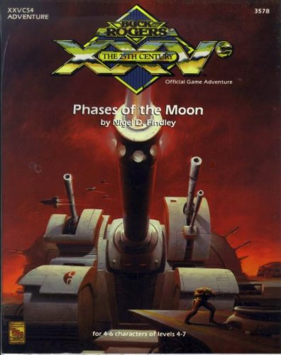 Phases of the Moon (Buck Rogers/25th Century: Nigel D. Findley