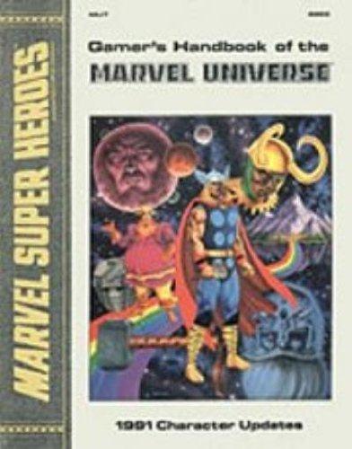 9781560761020: Gamer's Handbook of the Marvel Universe: 1991 Character Updates (Marvel Super Heroes, Accessory MU7)