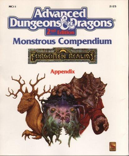 9781560761112: Monstrous Compendium: Appendix (Advanced Dungeons & Dragons, 2nd Edition)