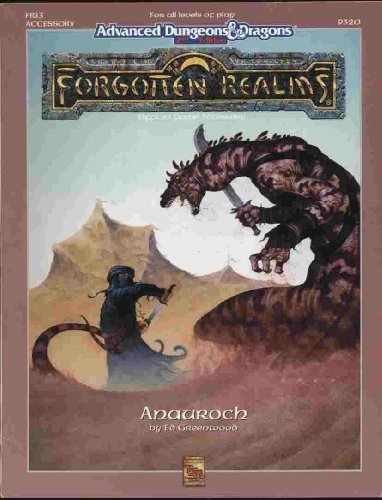 9781560761266: Anauroch (Advanced Dungeons and Dragons : Forgotten Realms Accessory)