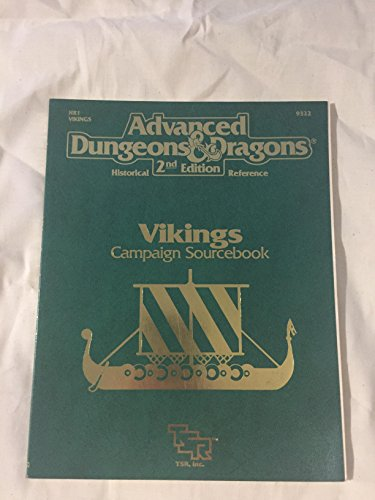 9781560761280: Vikings Campaign Sourcebook (Advanced Dungeons & Dragons, 2nd Edition: Historical Reference/9322/HR1)