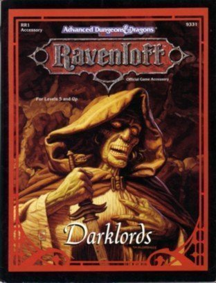 Darklords (AD&D 2nd Ed Fantasy Roleplaying, Ravenloft: Andria Hayday
