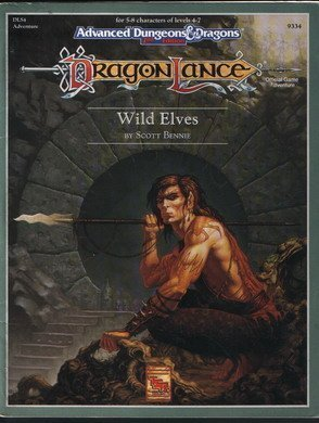 9781560761402: Wild Elves (Advanced Dungeons and Dragons, 2nd Edition : Dragonlance, Dls4)