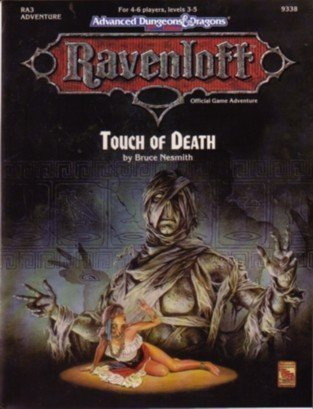 9781560761440: Touch of Death (Advanced Dungeons and Dragons, 2nd Edition : Ravenloft, Ra3)